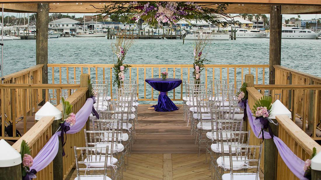 Wedding Ceremony Layout at Warwick Paradise Island