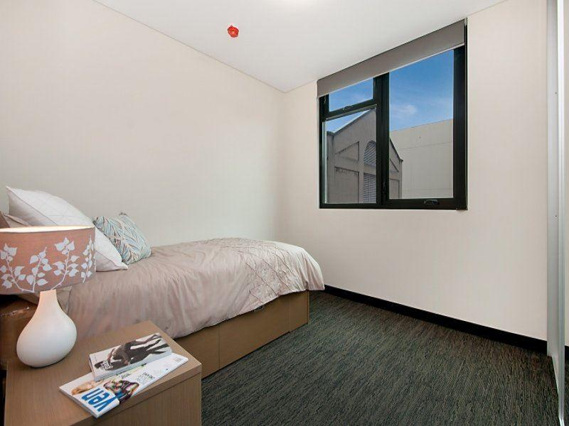 Student Living Edge Apartments – East End bedroom_Adelaide Serviced Apartments