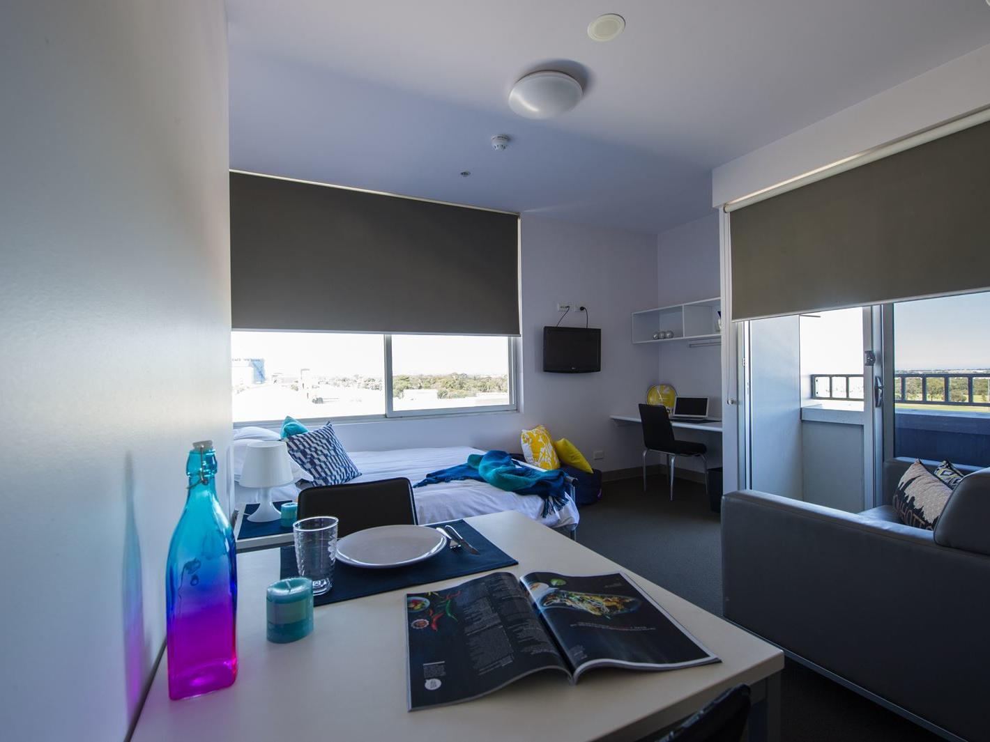 Typical studio double apartment