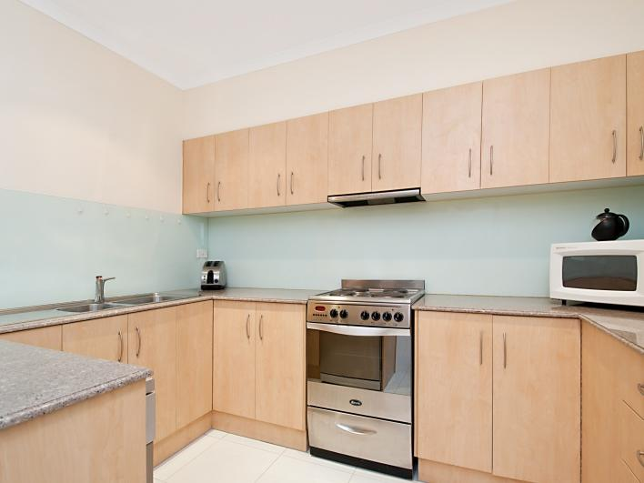 Adelaide Tower Apartments Kitchen