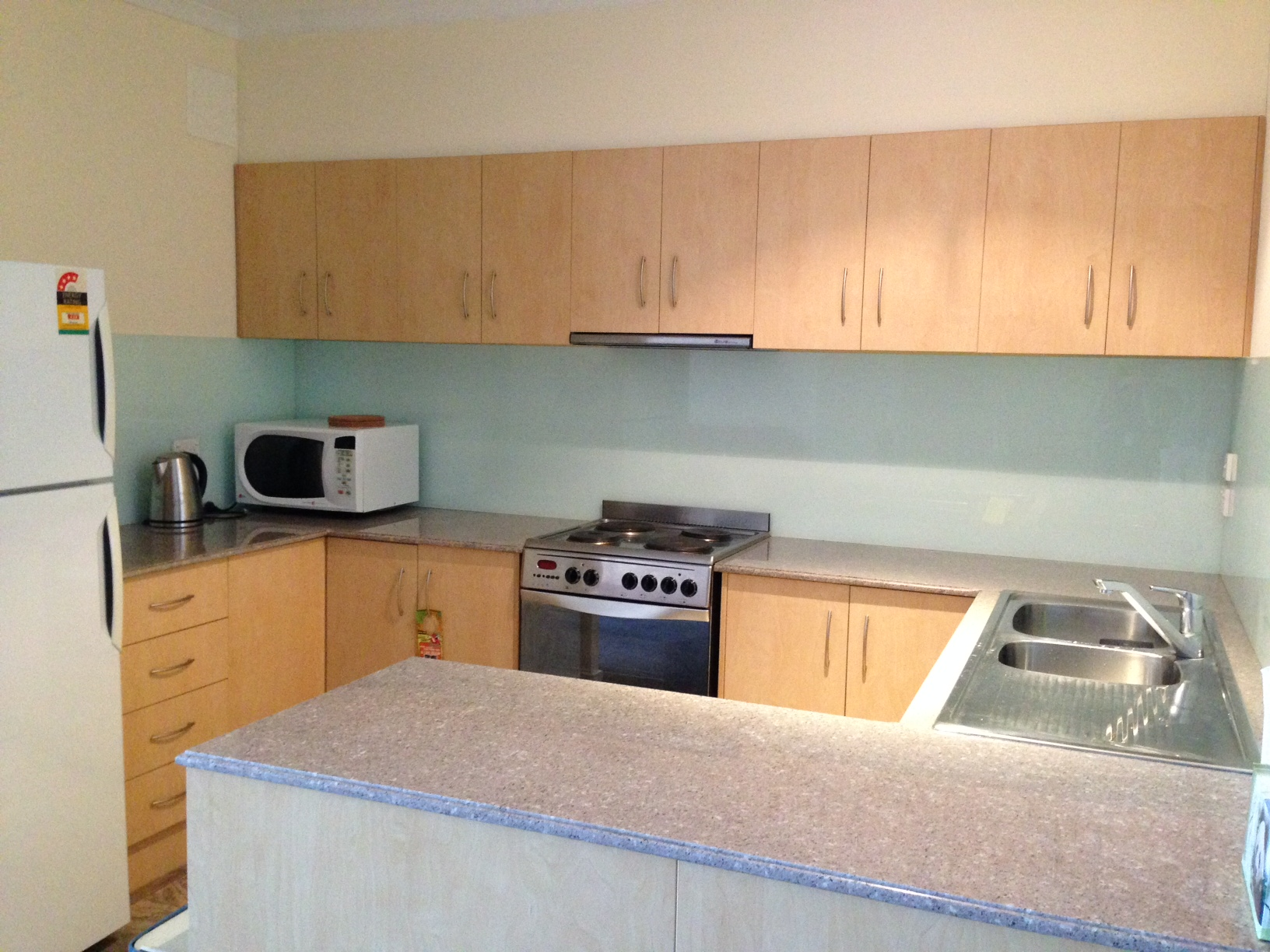 Central Adelaide Student Apartments Kitchen