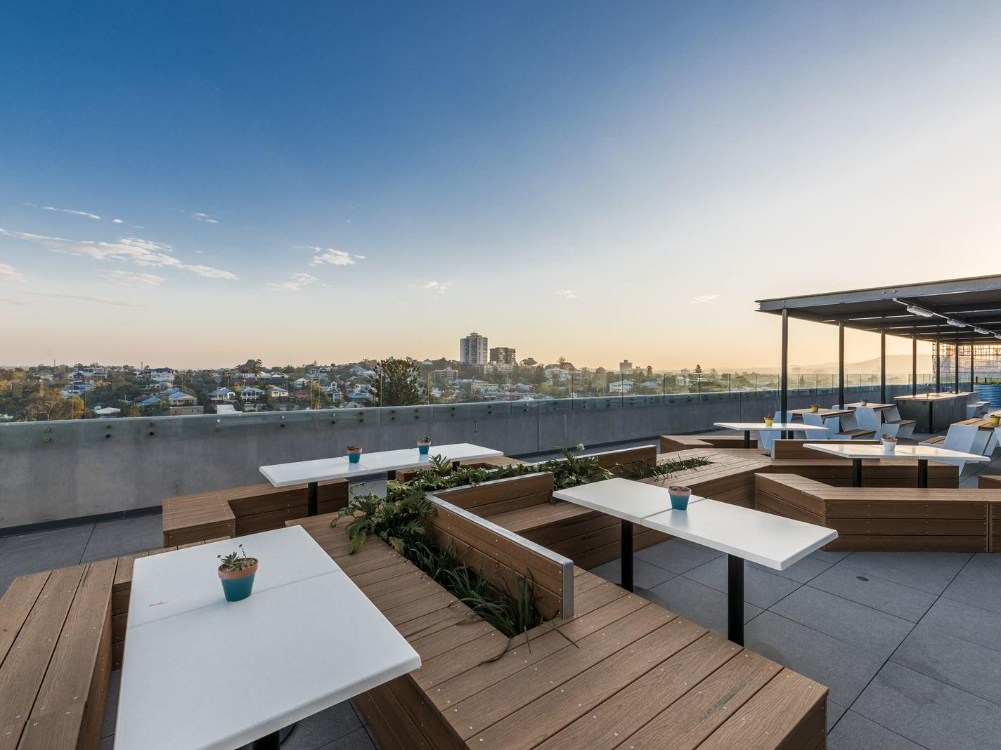 UniLodge South Bank_Rooftop Terrace View