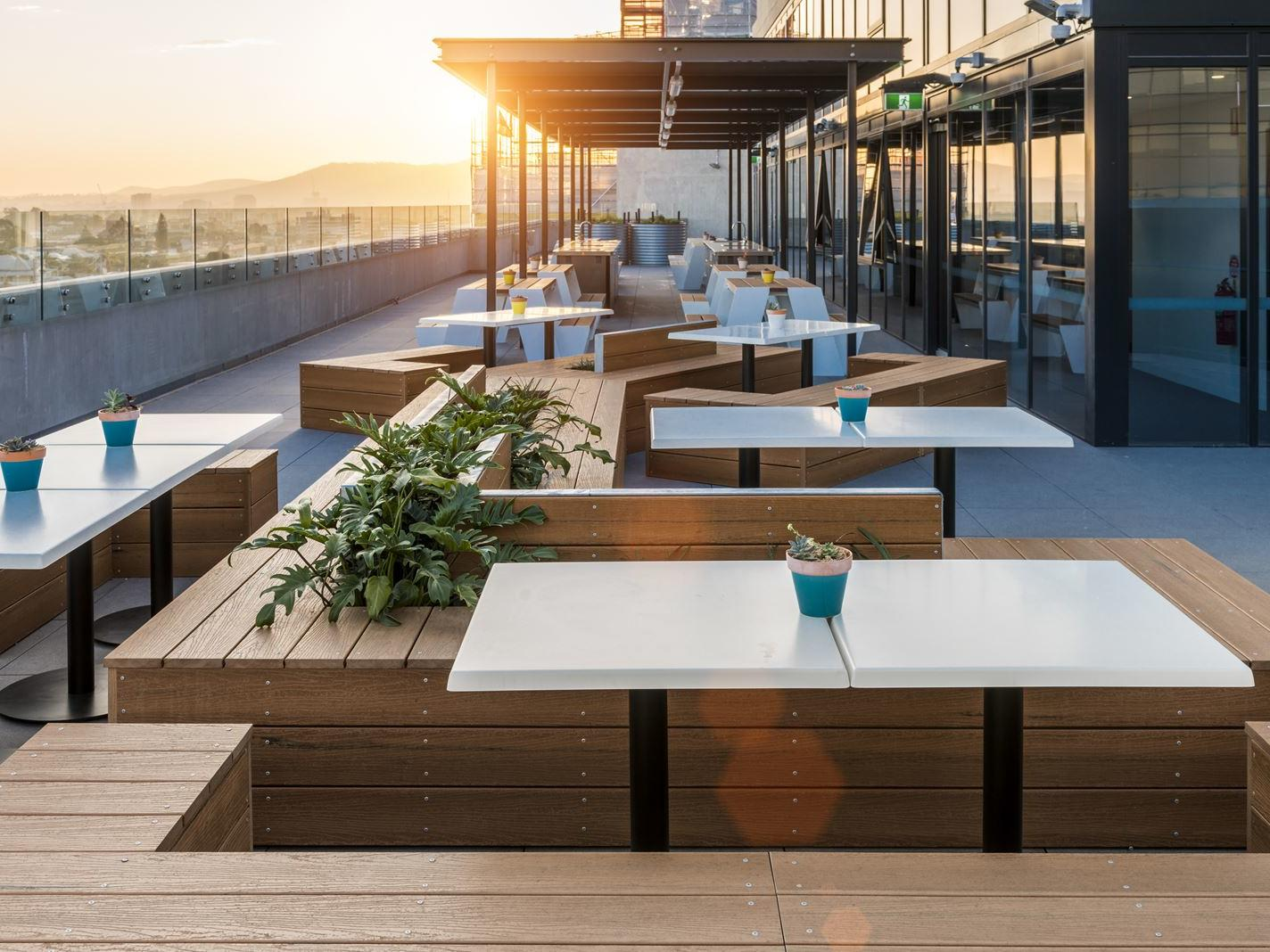 UniLodge South Bank_Rooftop Terrace