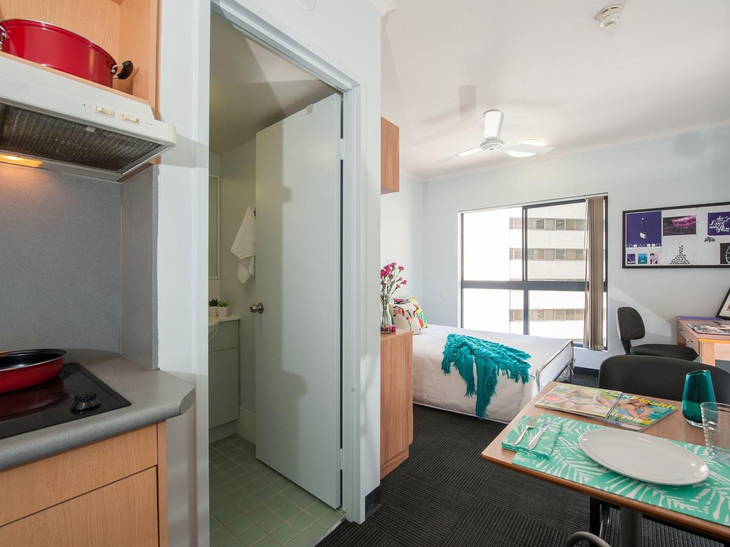 On Margaret _Studio double unit bedroom