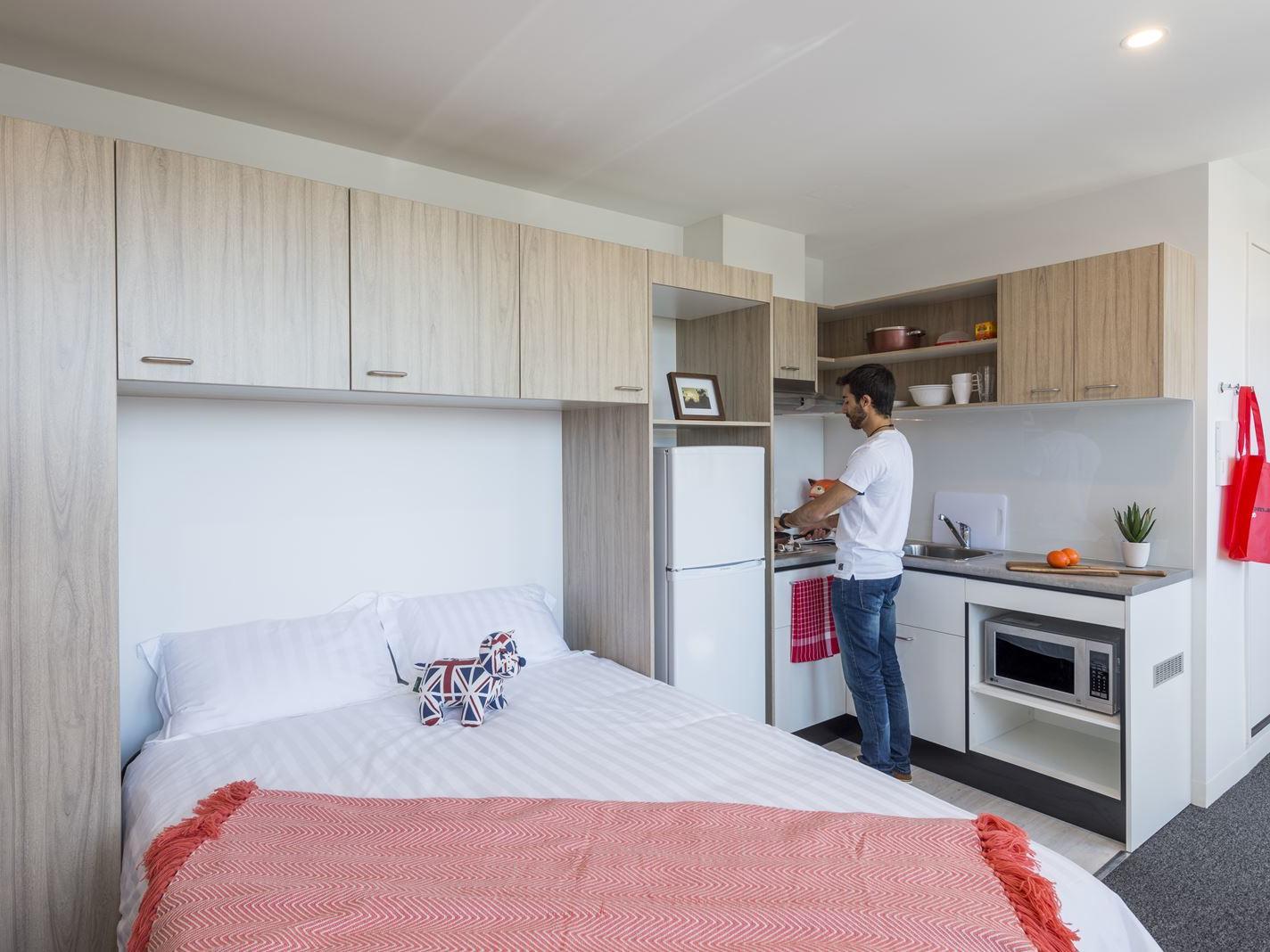 UniLodge South Bank_Studio Corner Living