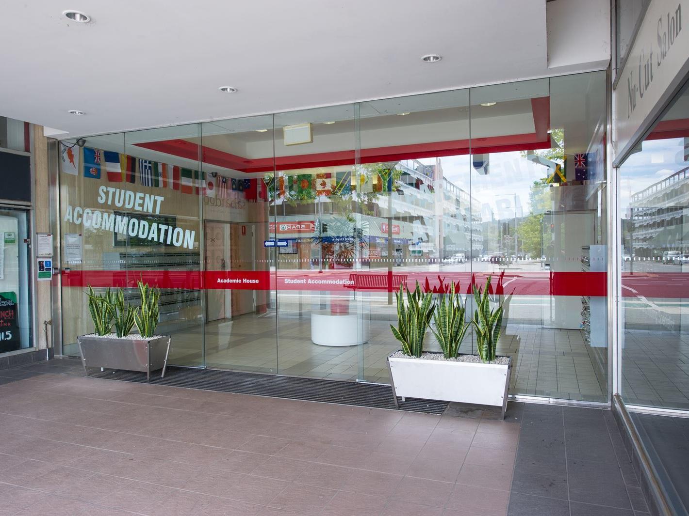 UniLodge Academie House_Front Entrance