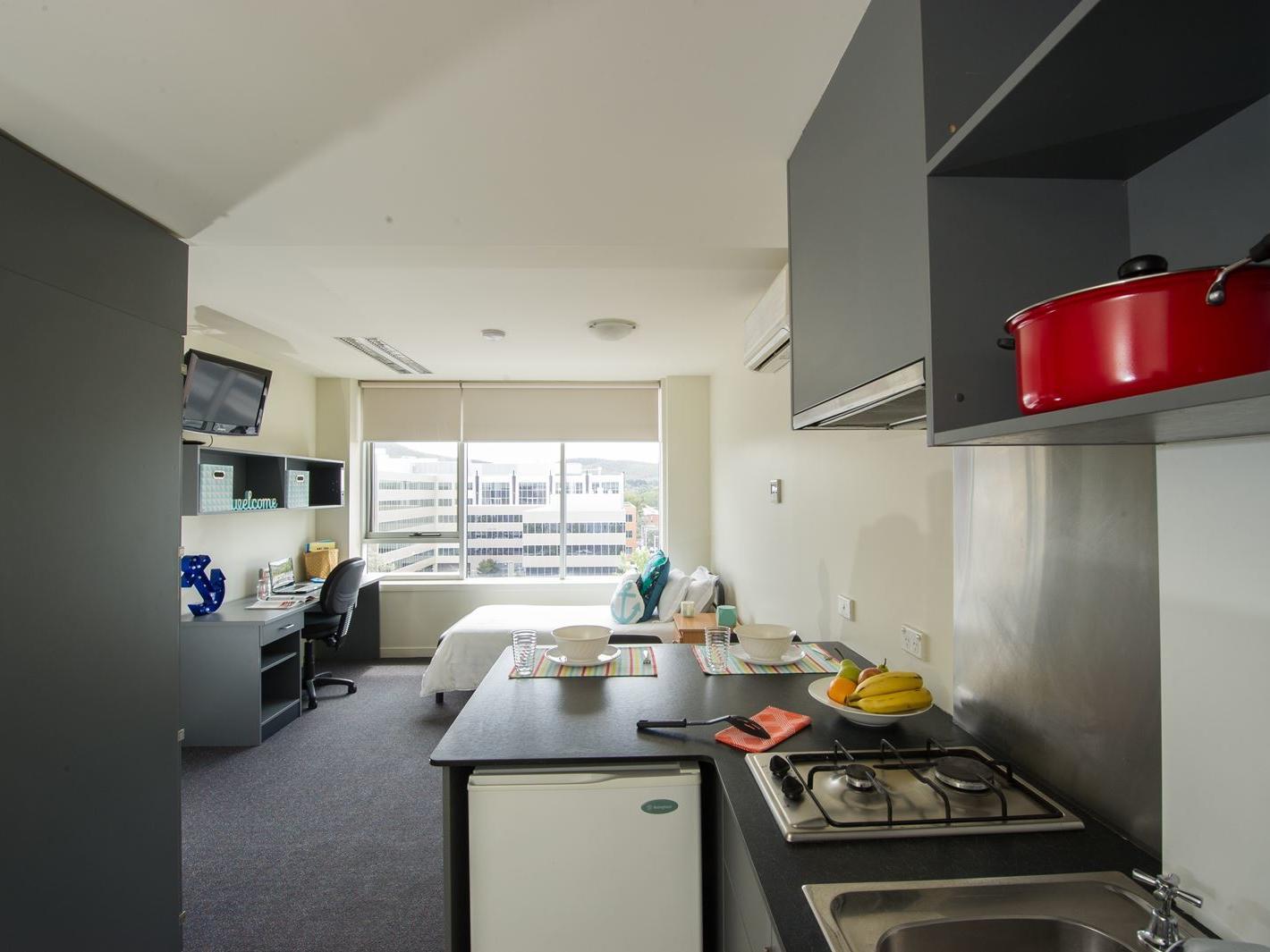 UniLodge Academie House_Studio Apartment_Students Accommodation
