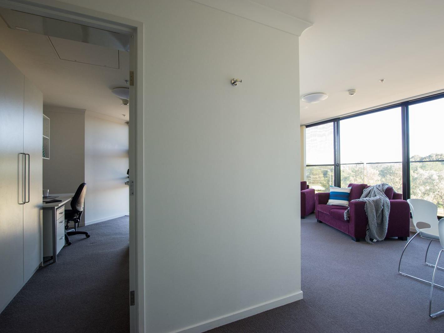 UniLodge @ ANU – Lena Karmel Lodge_2 Bedroom Multishare_ANU Campus Accommodation