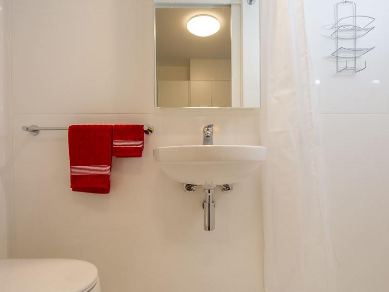 Studio apartment bathroom - purchase a bathroom kit & many other great products from our UniLodge online shop, Your Shop