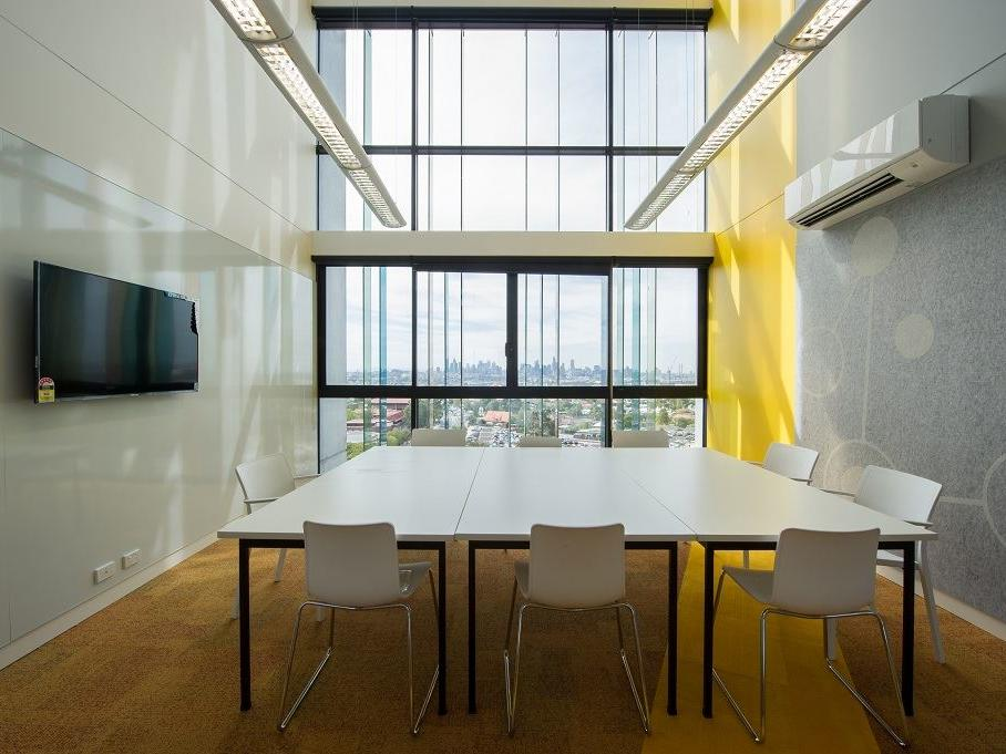 Study Rooms with smart TV's located on each level