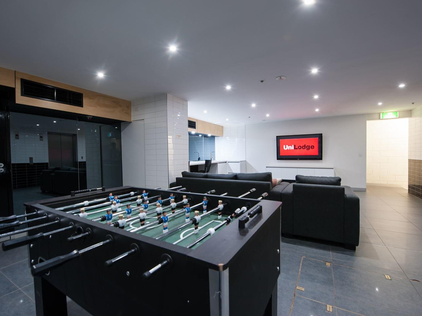 Recreation room for all residents to enjoy