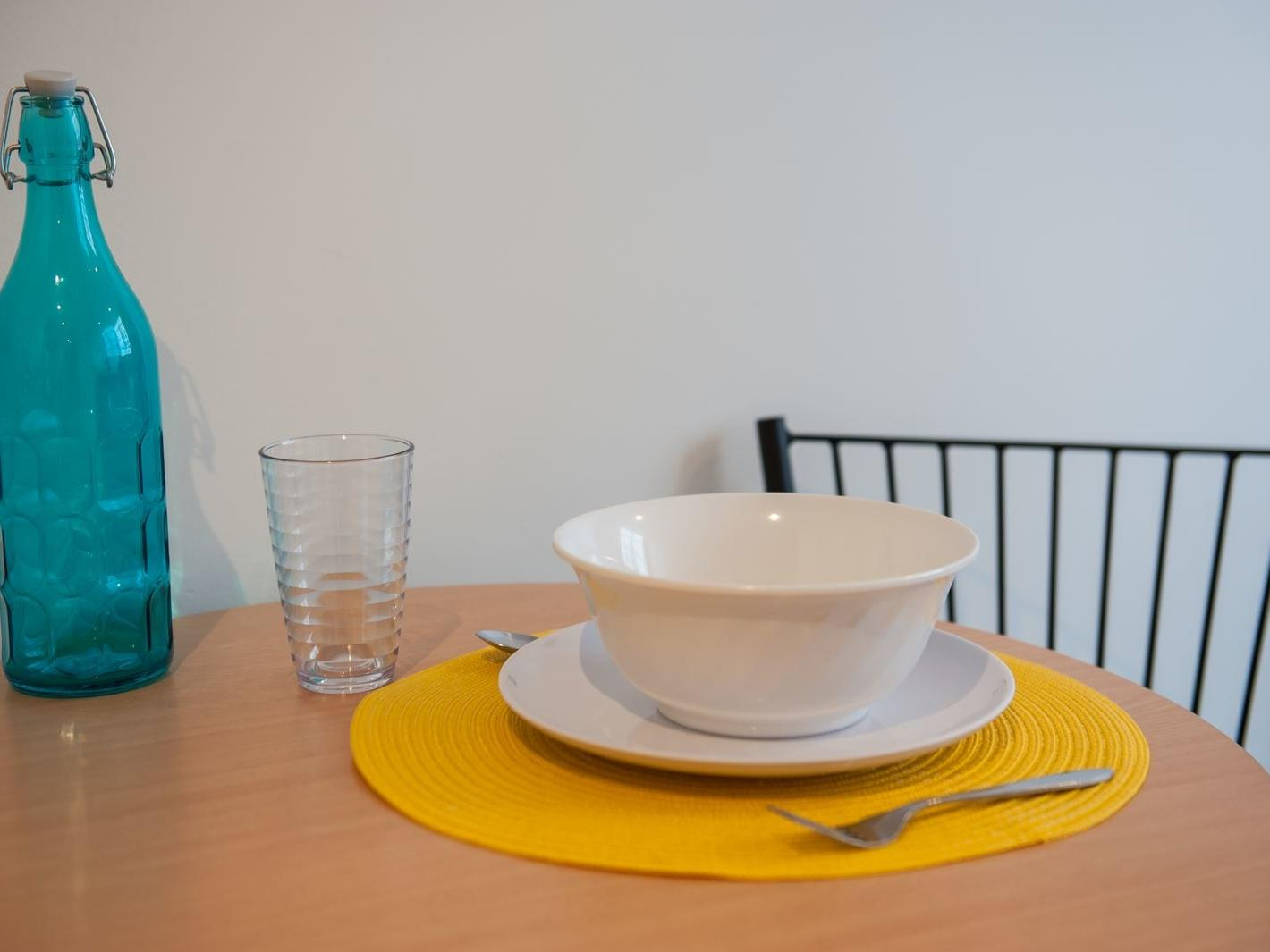 1 Bedroom Plus Study - Dining table