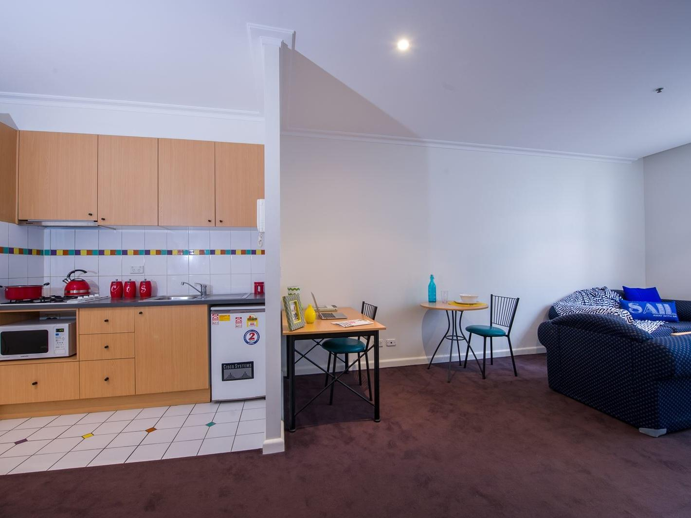 1 Bedroom Plus Study - Kitchen, Dining & Lounge
