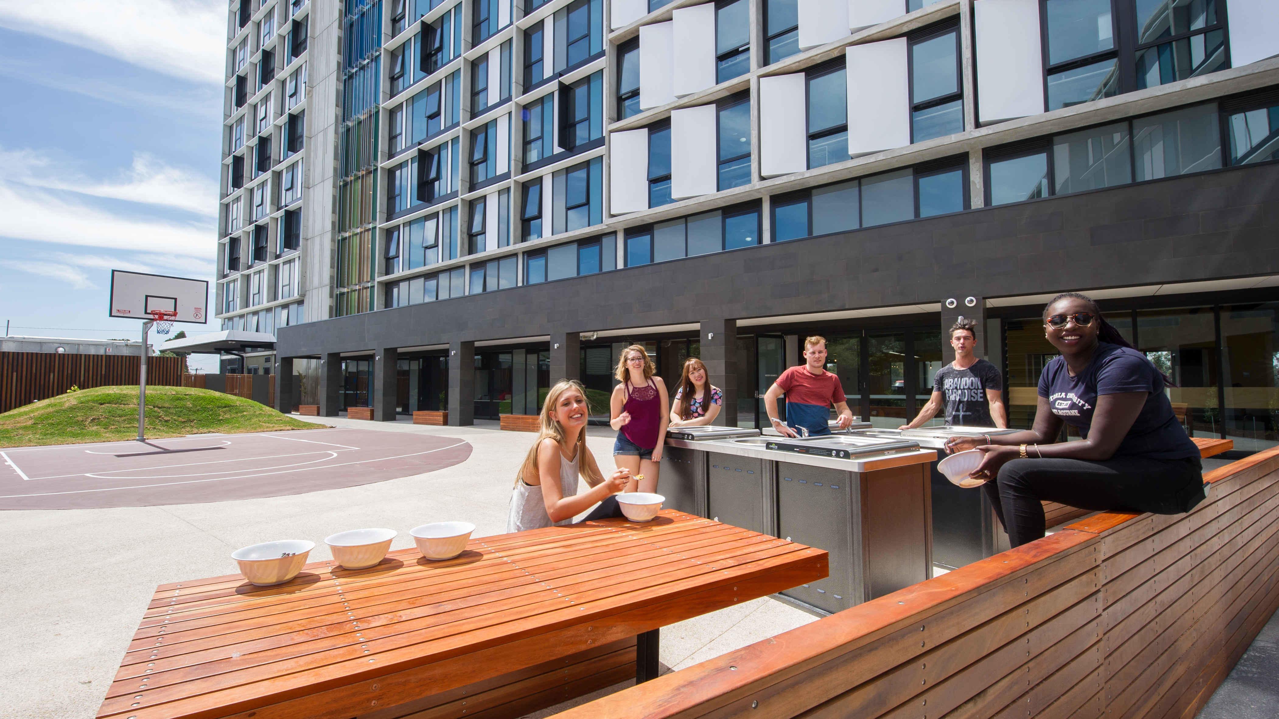 Ground Floor Outdoor Area