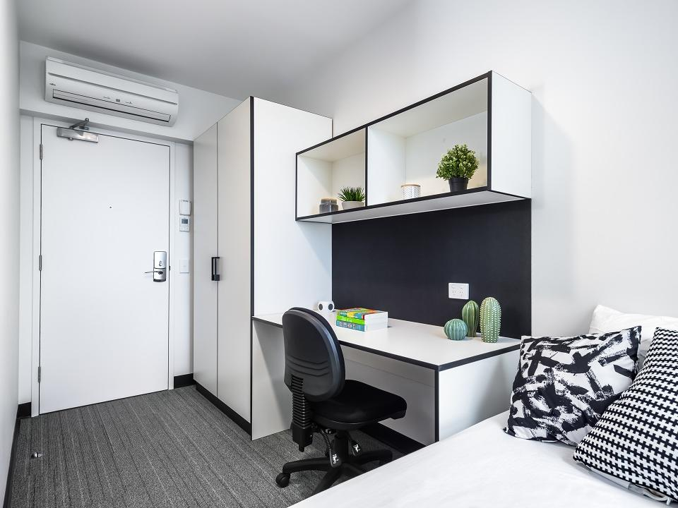 shared apartment - bedroom