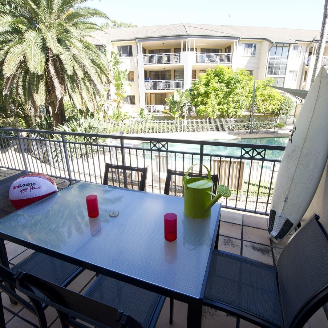 The Manors - 1 Bedroom Apartment Balcony
