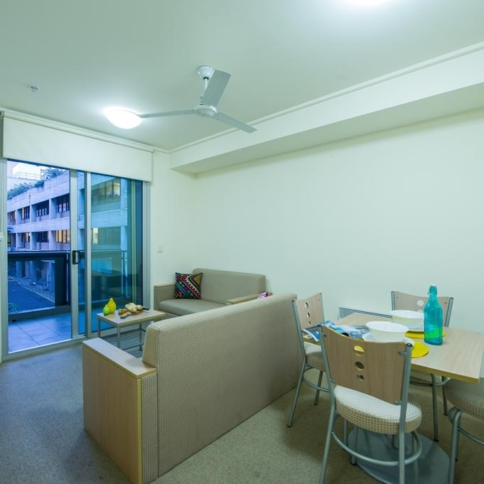 College Square on Swanston 2 Bedroom Apartment