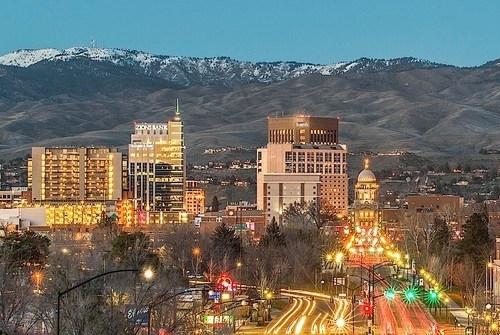The Boise Cityscape