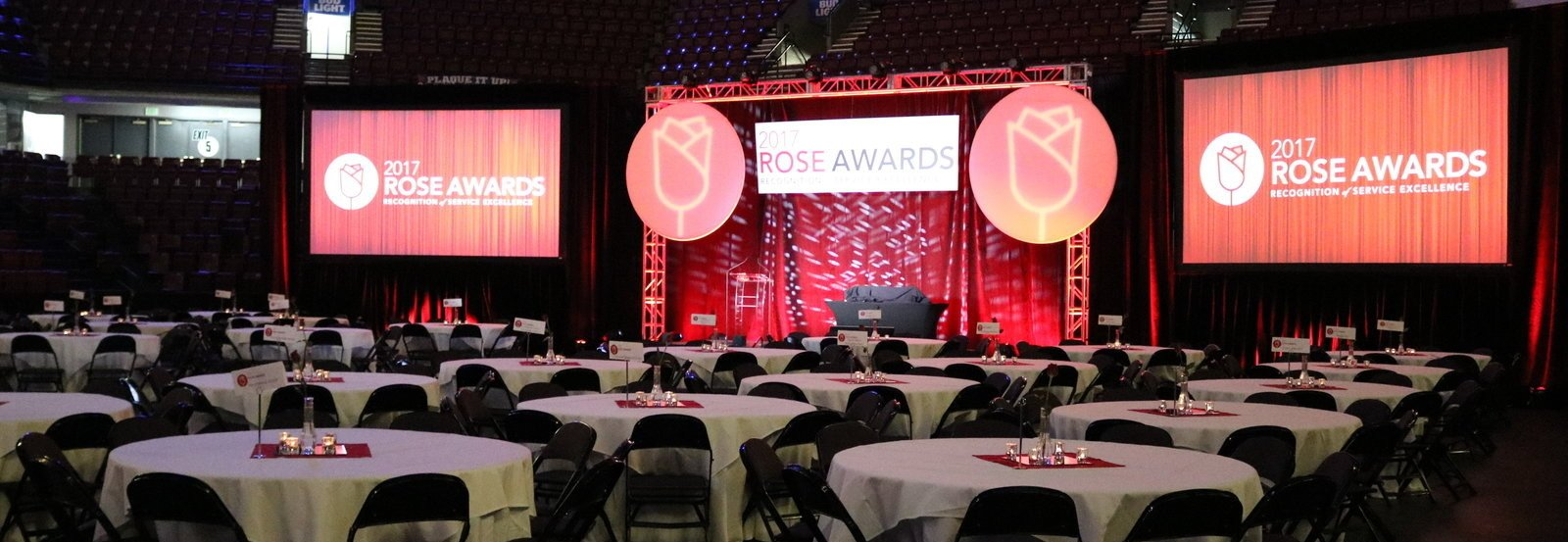 The Rose Awards in CenturyLink Arena