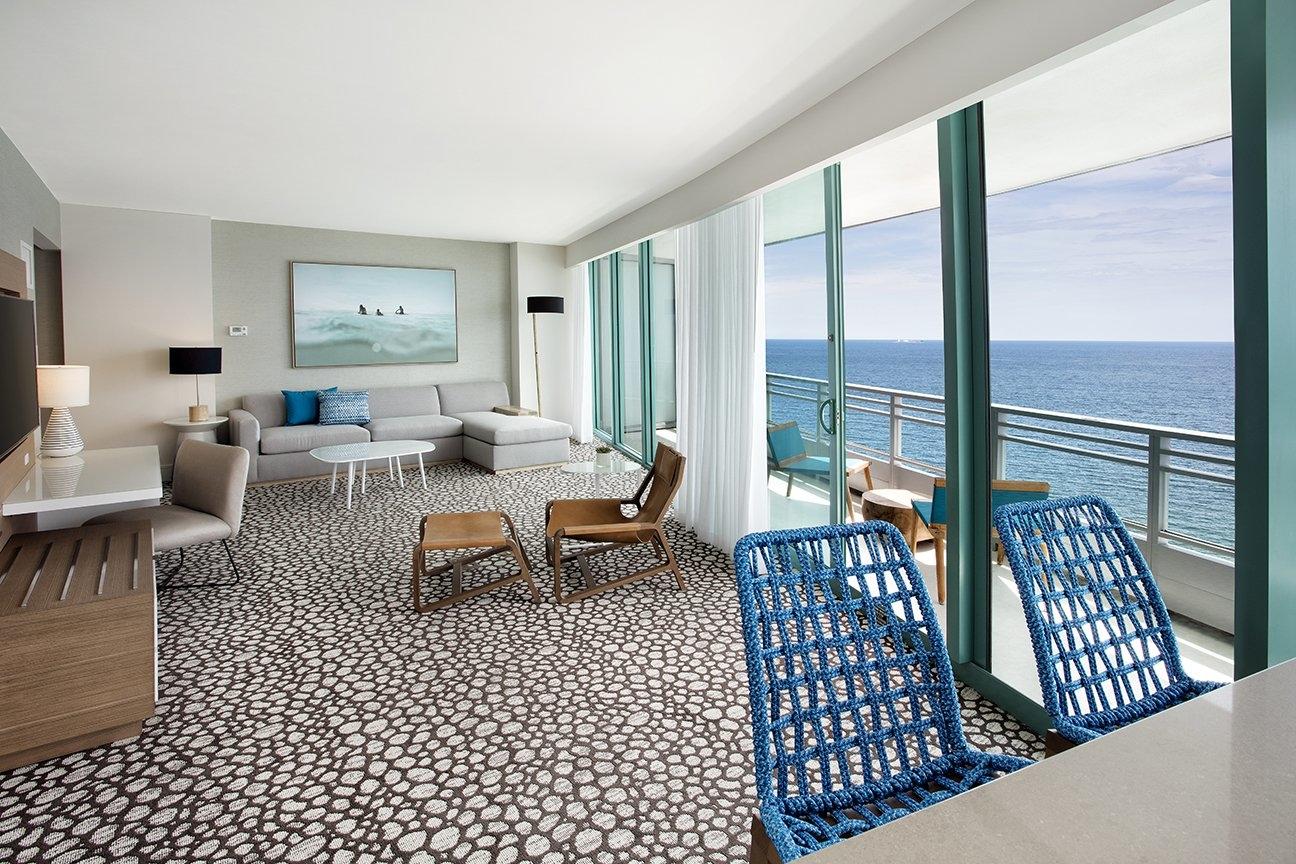 Corner Suite Living Room