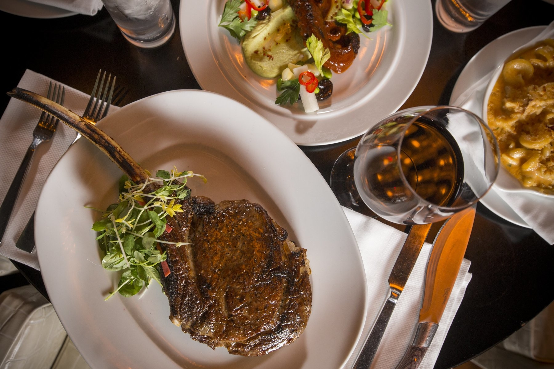 Dinner Steak Plate