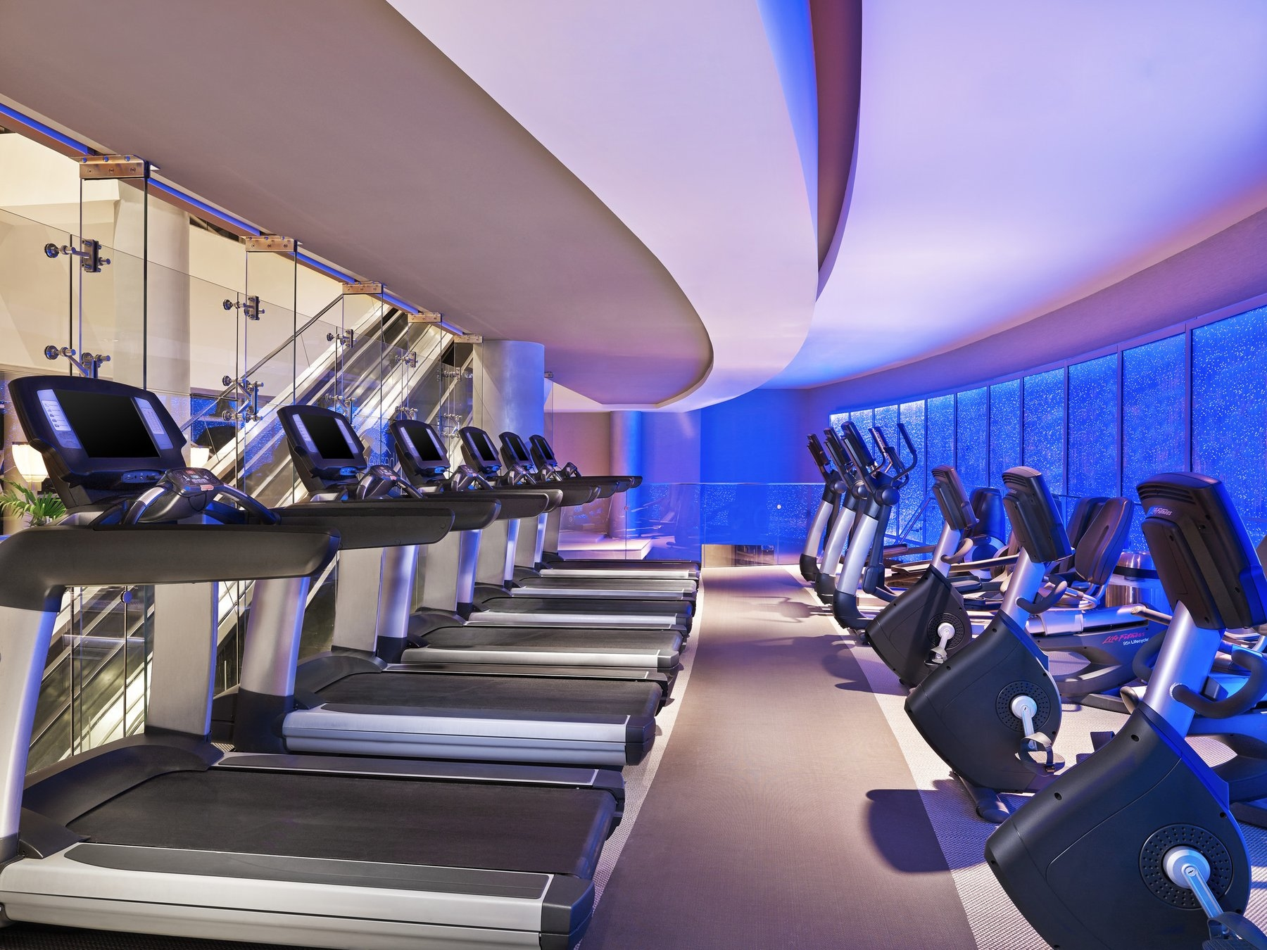 Fitness Center at The Diplomat Resort