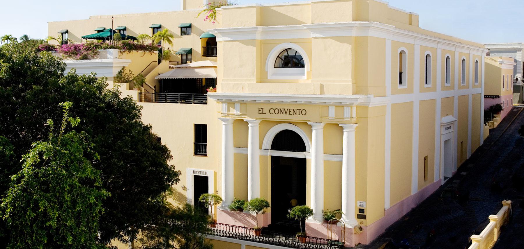 Hotel El Convento exterior view