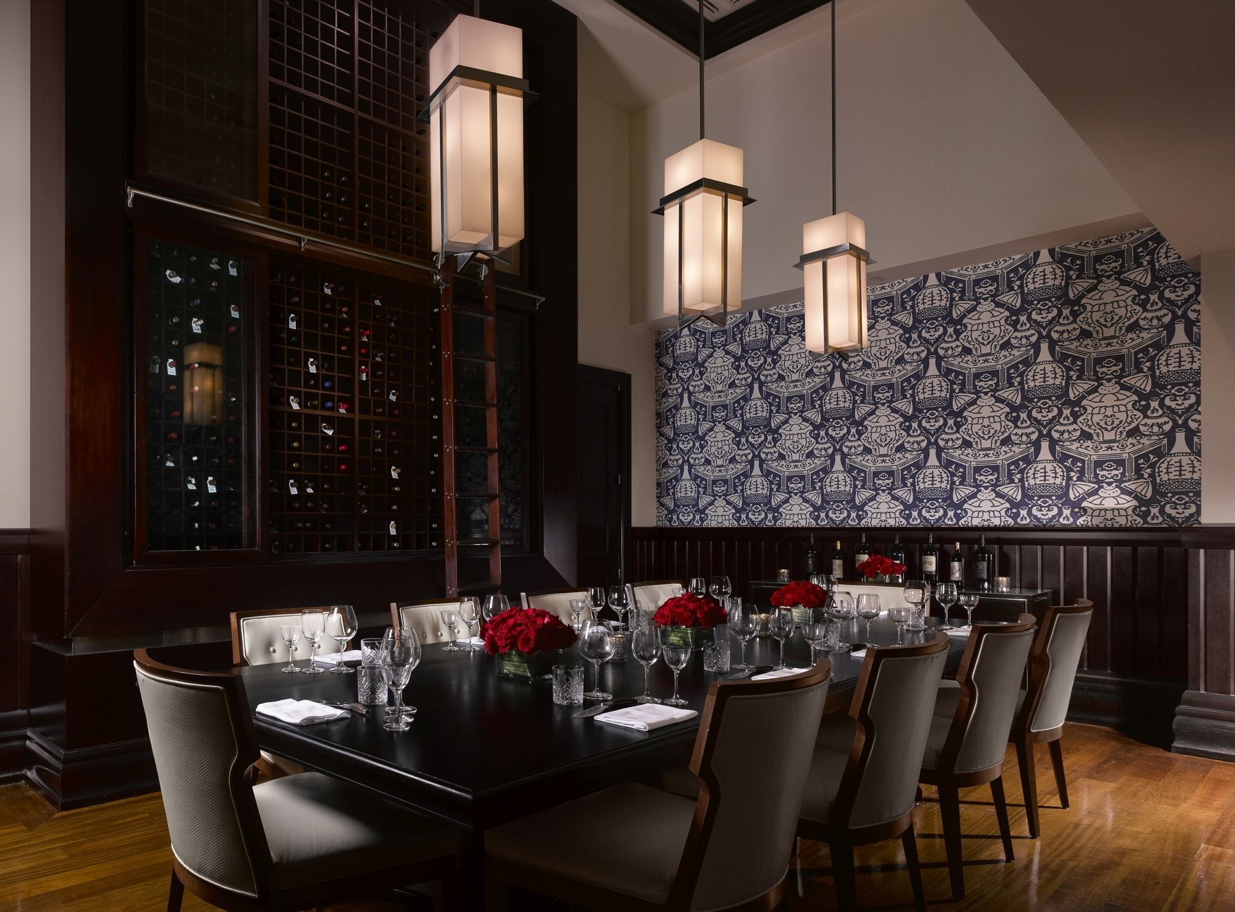 Will Pryce Diplomat Private Dining