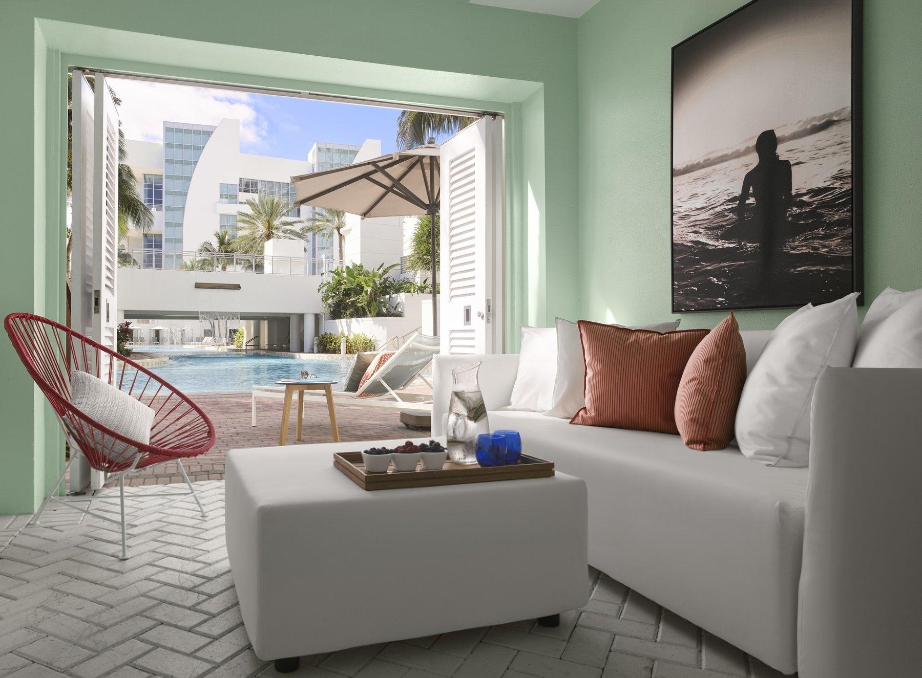 Cabana - The Diplomat Beach Resort, Miami, FL