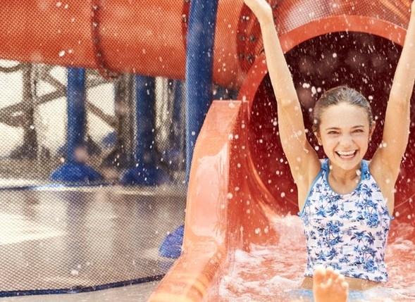 Pool Slide at The Diplomat Beach Resort, South FL