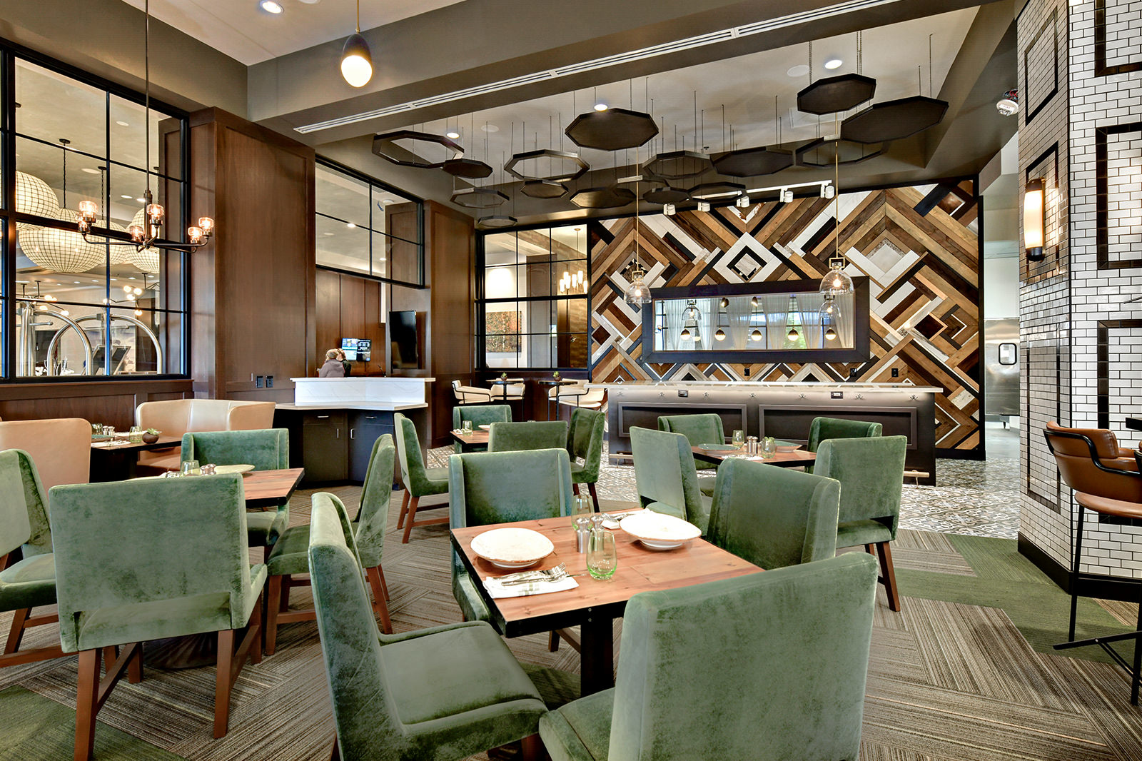 Trillium Restaurant seating