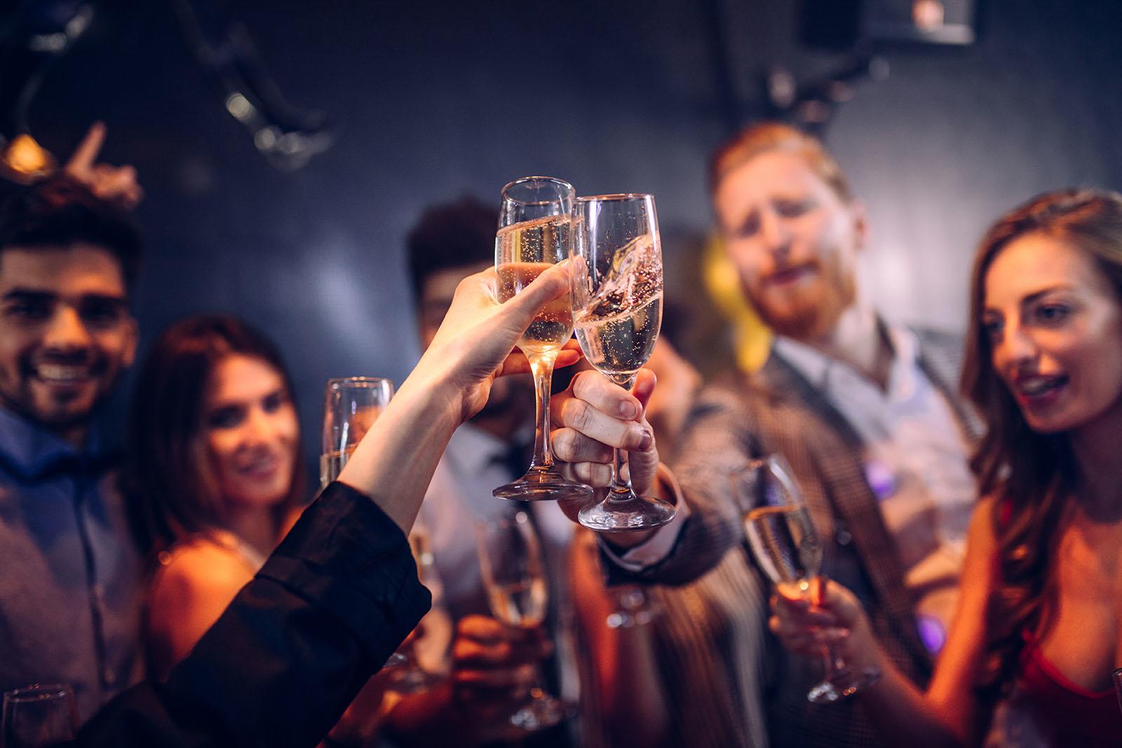 drinks and celebration