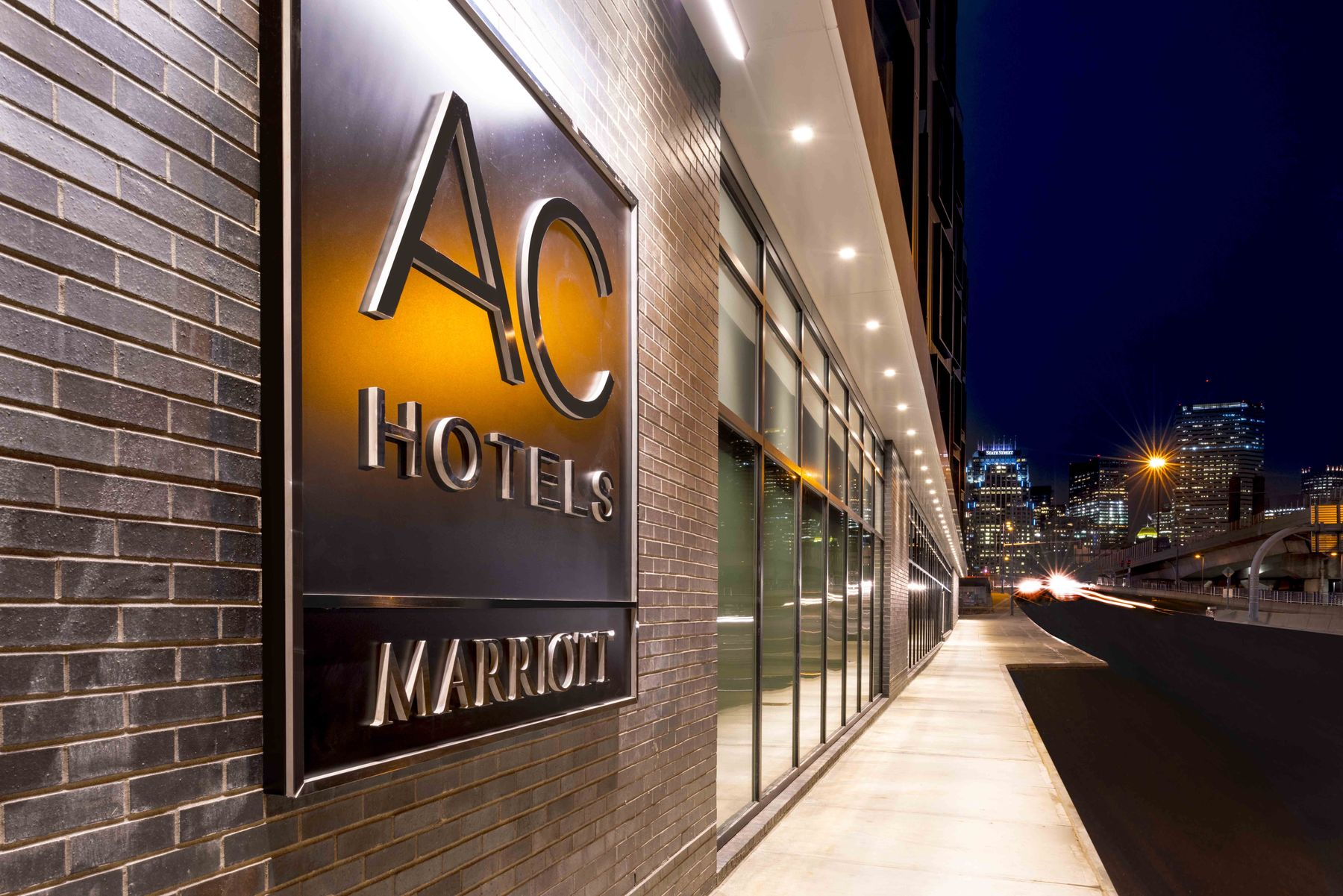 Exterior AC Hotels by Marriott sign