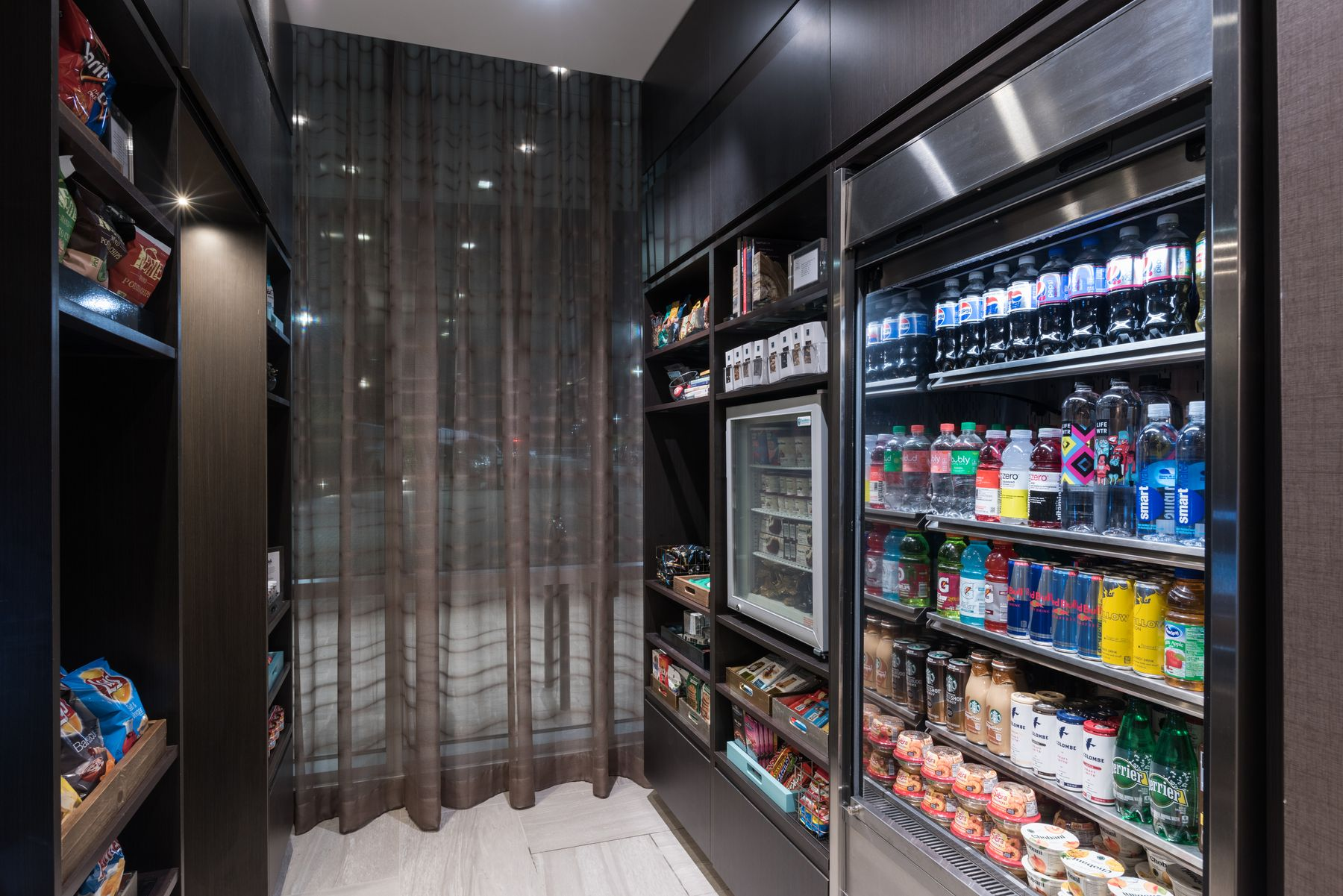 Grab and go snack pantry