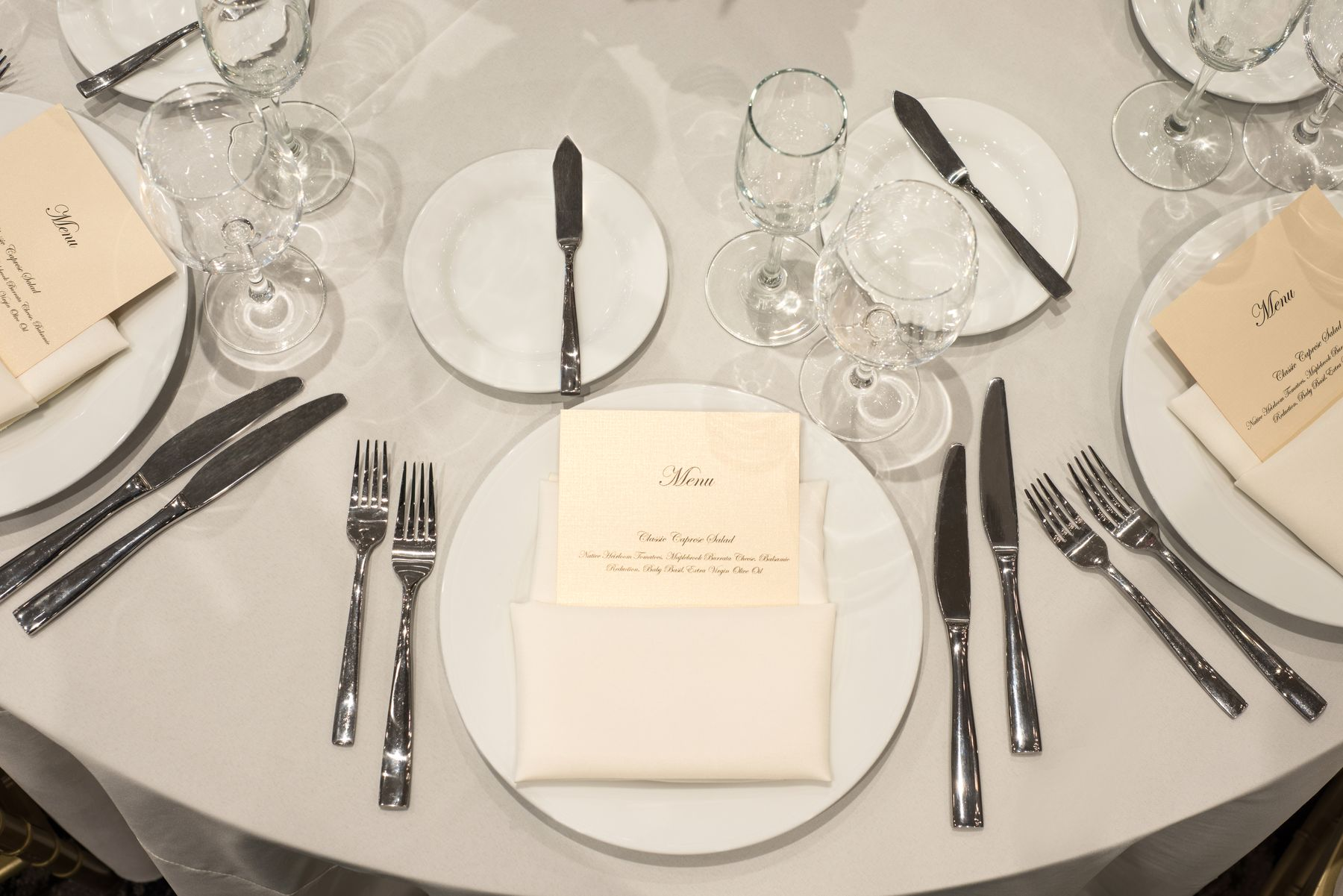 Formal place setting