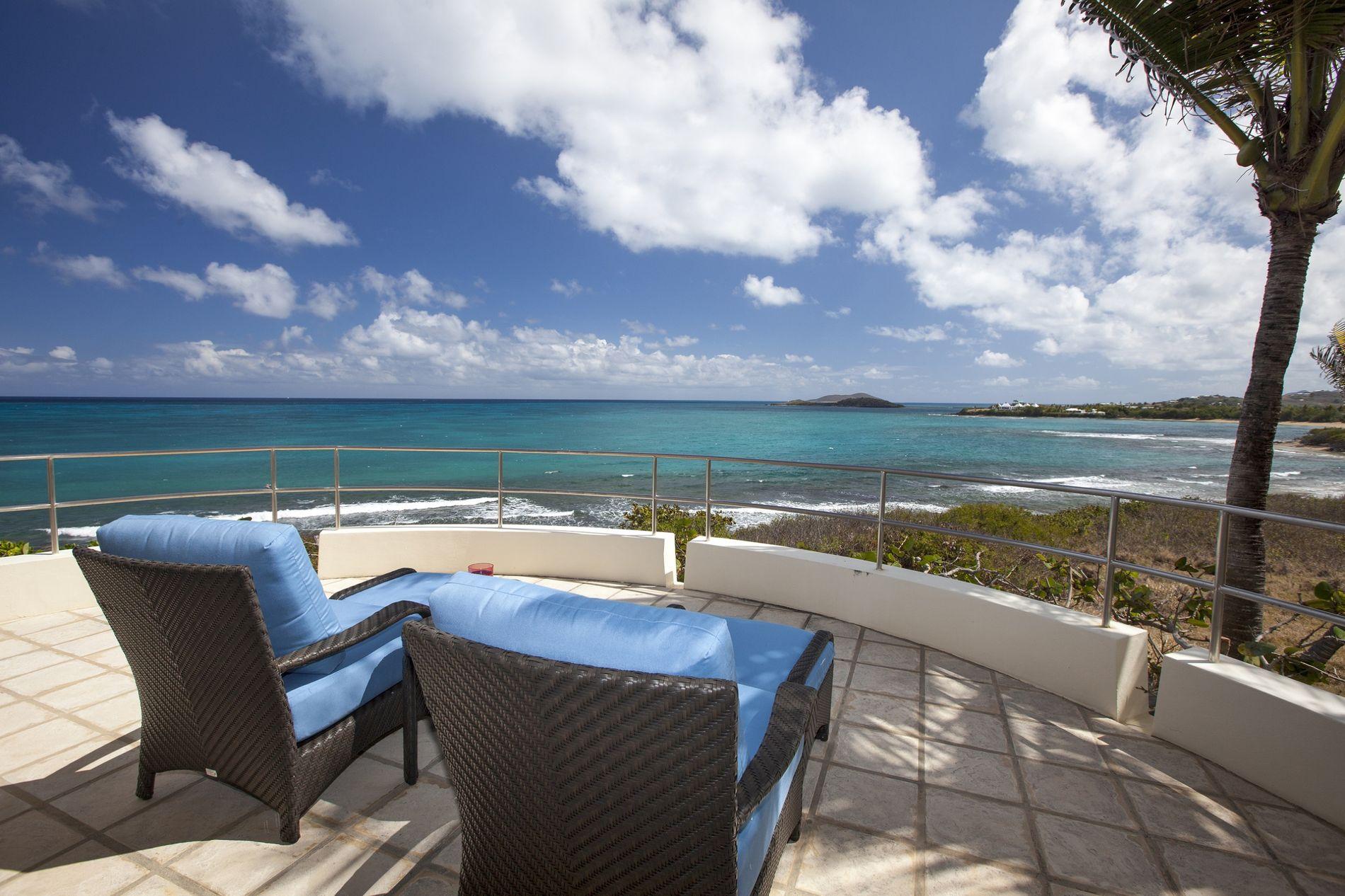 Buck Island Suite Private Terrace