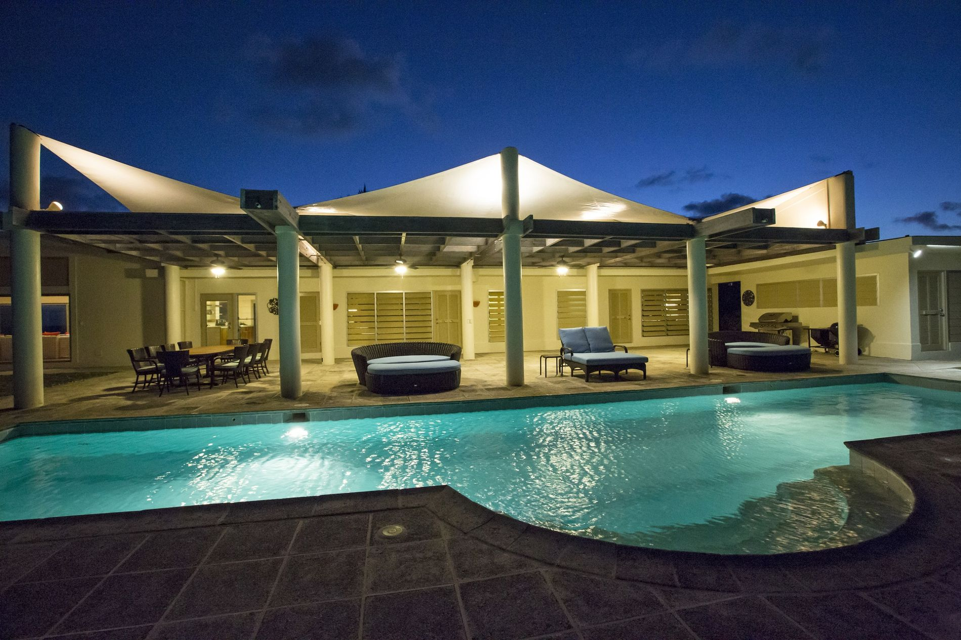 Beach House Outdoor Pool