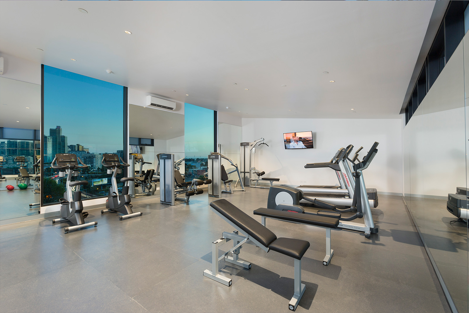 Indoor Gym - Melbourne Short Stay Apartments