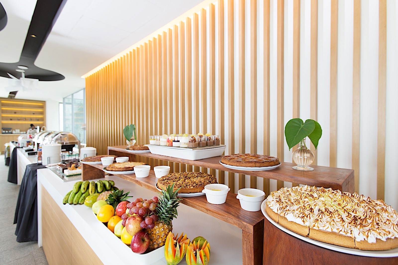 Buffet at Noom Hotel Conakry