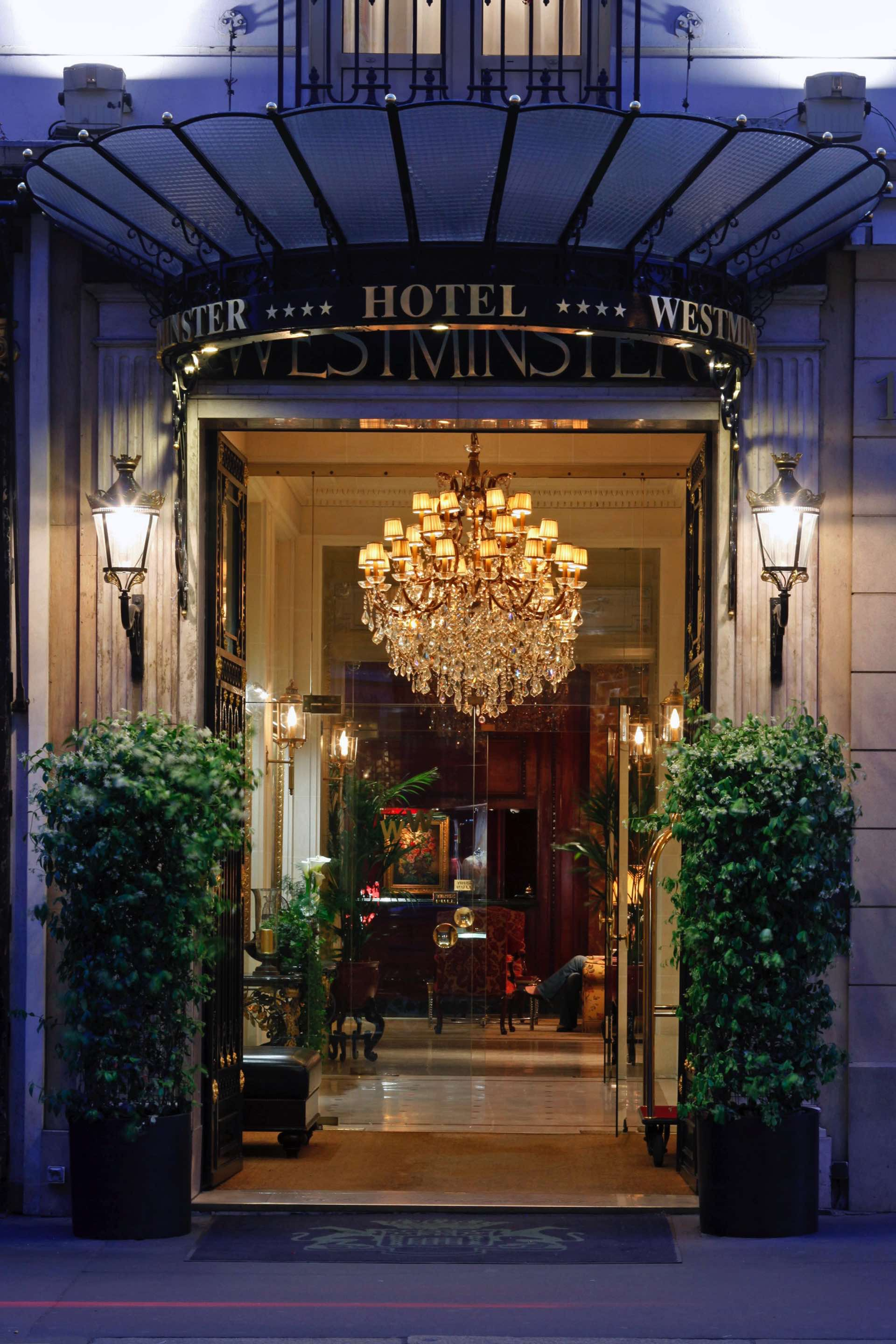 Hotel Entrance at Westminster Warwick Paris