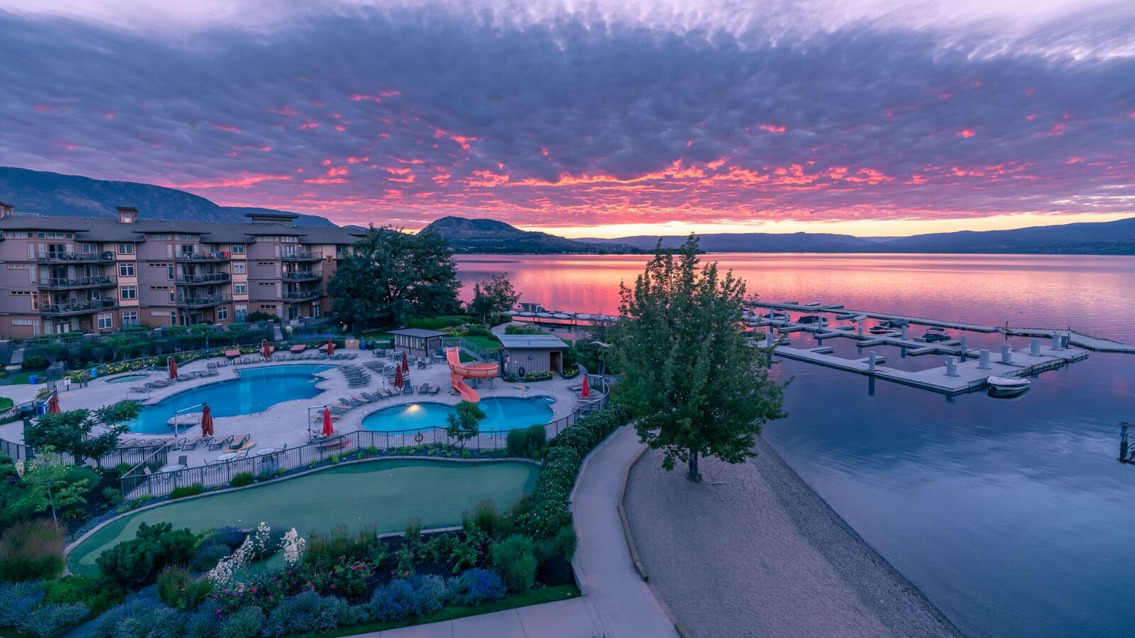 Welcome to The Cove Lakeside Resort in West Kelowna, BC