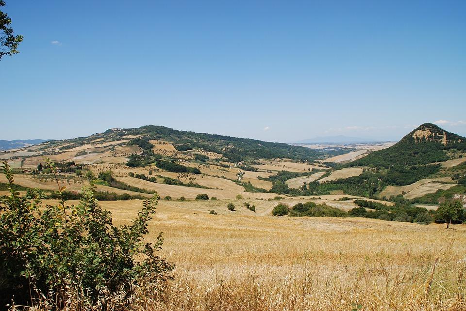 Tuscany hills in Italy