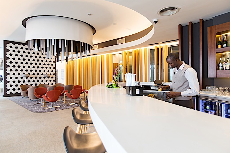 Bar at Noom Hotel Conakry