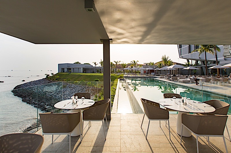 Terrasse à Noom Hotel Conakry