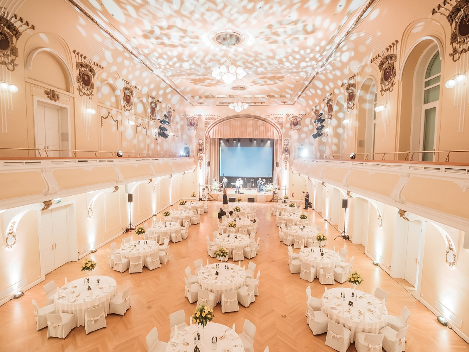 Events spaces at Grand Hotel Union in Ljubljana