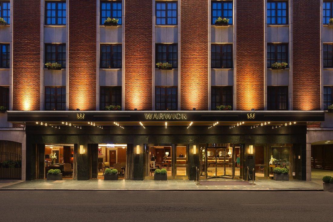 Warwick Brussels Hotel Facade