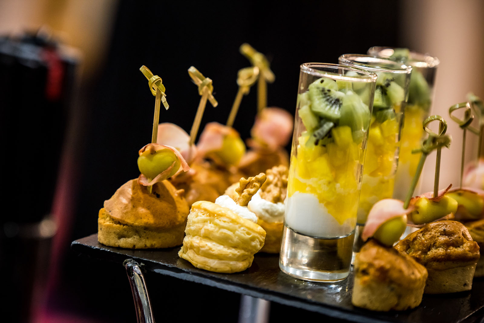 Catering at Kenzi Tower Hotel in central Casablanca, Morocco