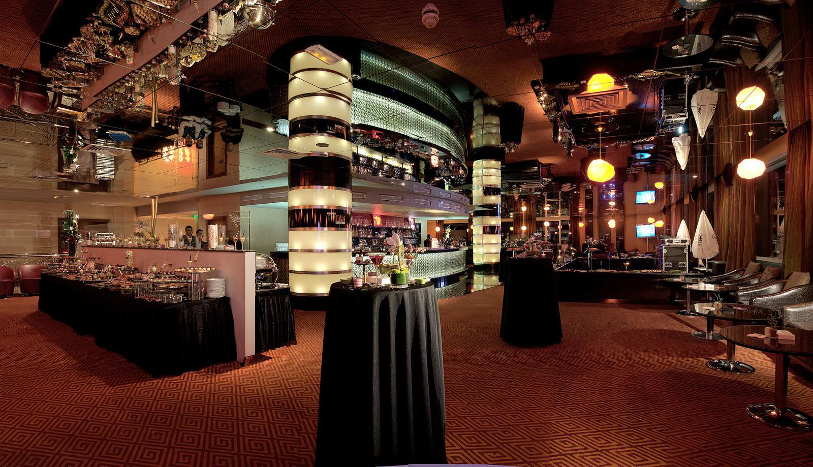 Sky 28 Bar at Kenzi Tower Hotel in central Casablanca, Morocco