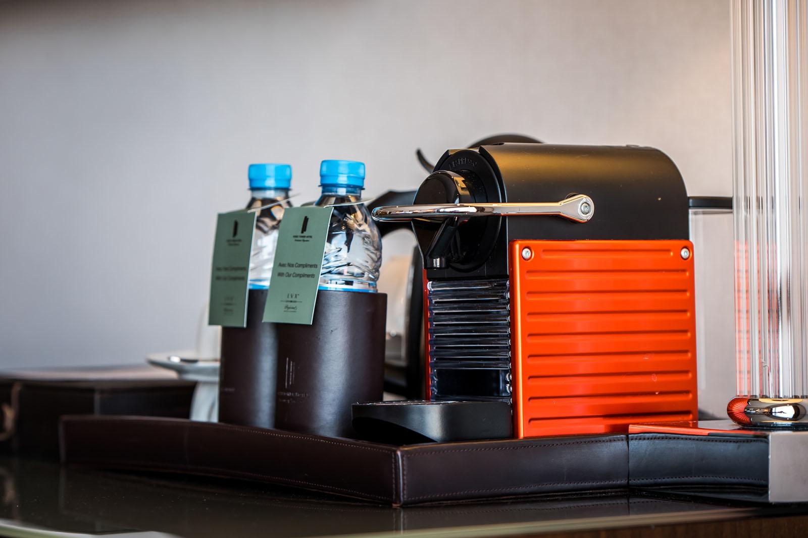 Coffee Machine at Kenzi Tower Hotel in central Casablanca, Moroc
