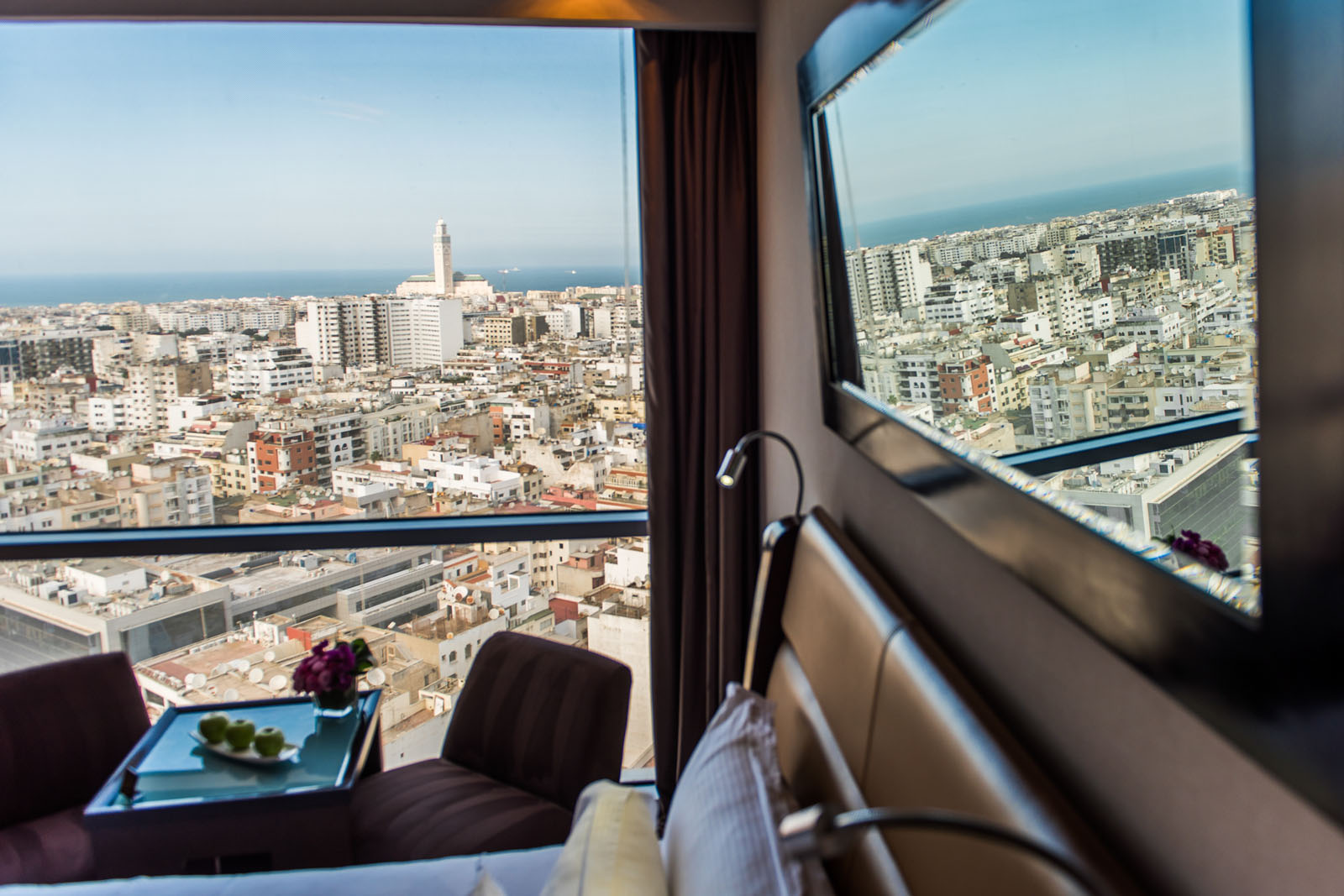 Deluxe Room at Kenzi Tower Hotel in central Casablanca, Morocco